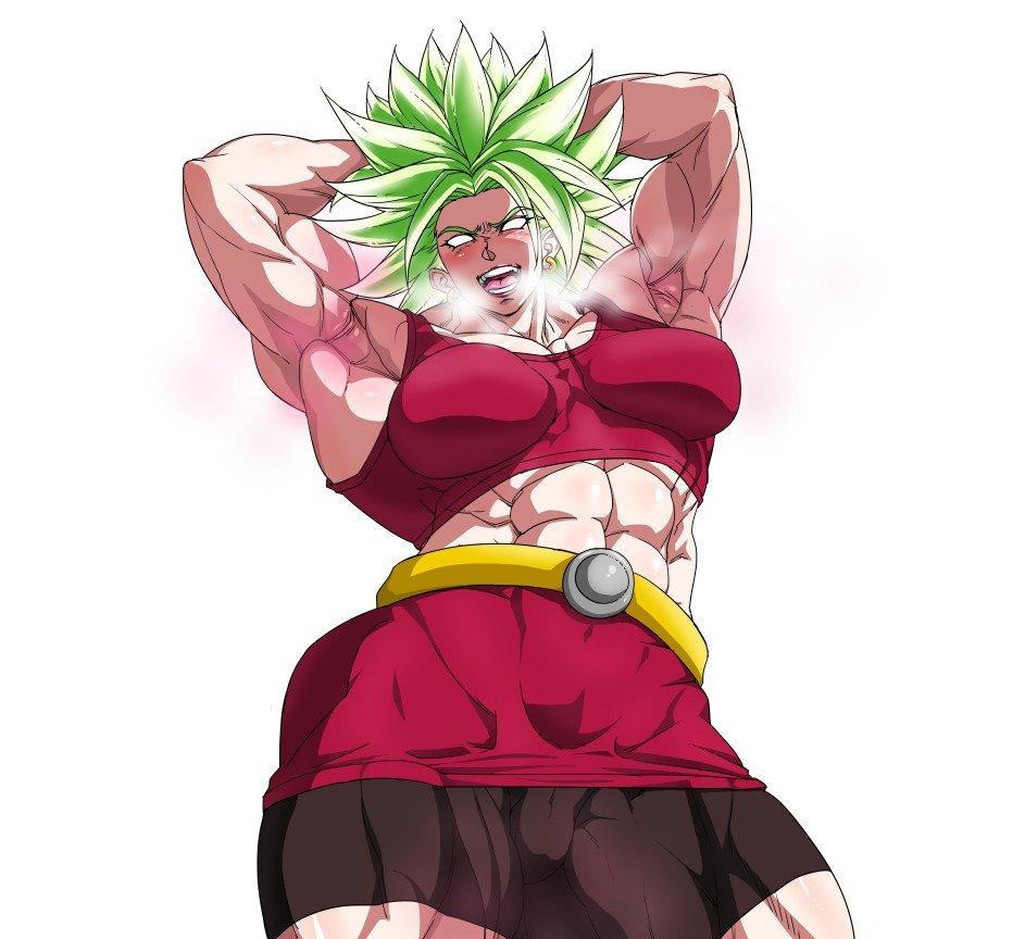 Kale Super Saiyan Berserker | Dragon Ball | Know Your Meme