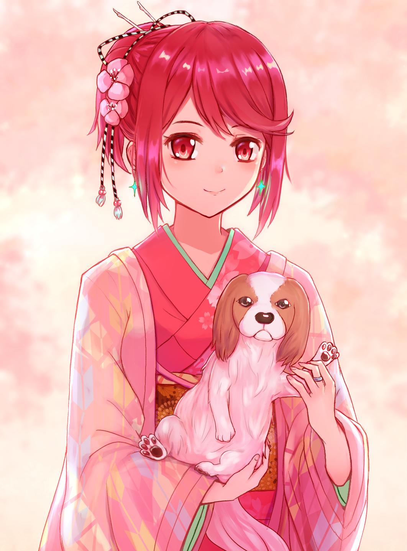 Human Dog Anime