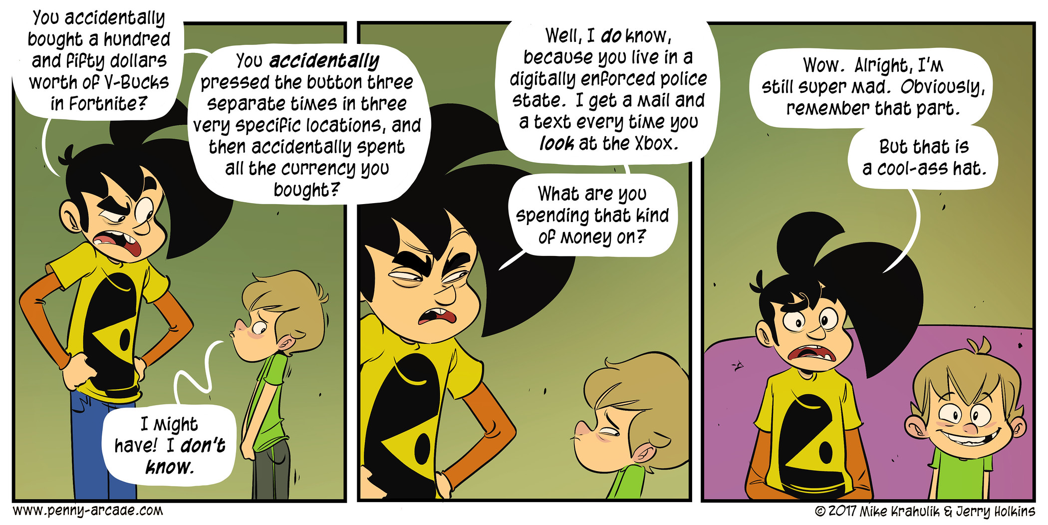 Best value penny arcade know your meme you accidentally bought a hundred and pipty dollars worth op v bucks in fortnite m4hsunfo