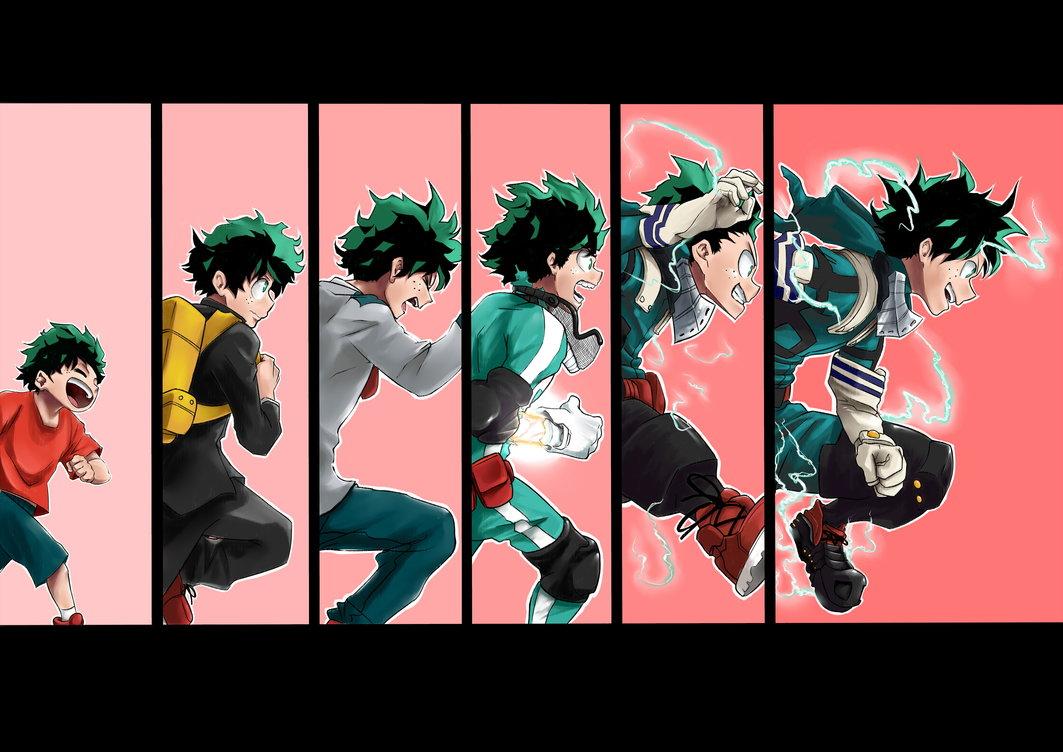Boku No Hero Academia Deku Final Form Anime Top Wallpaper