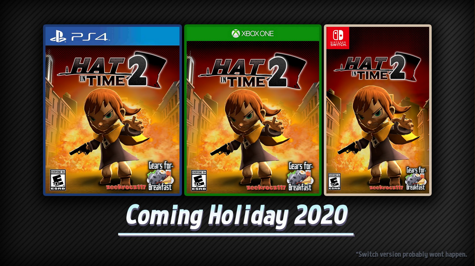 Games Coming To Switch 2020.Never Coming In 2020 A Hat In Time Know Your Meme