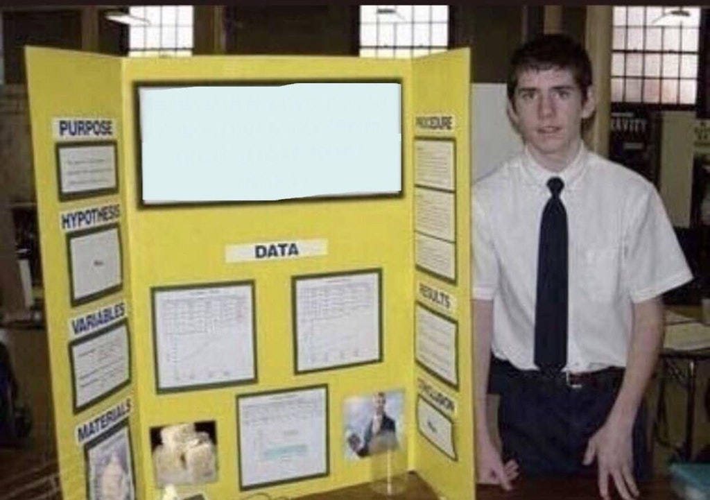 science fair project templates