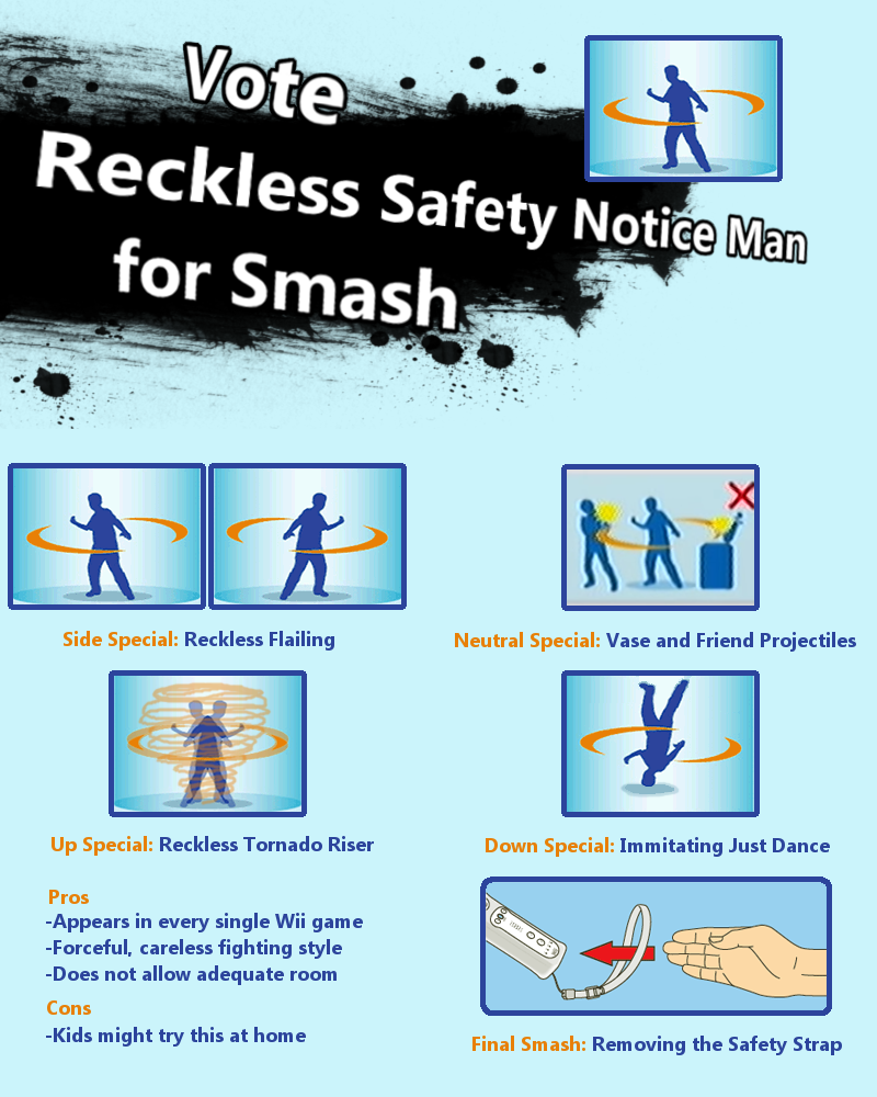 reckless wiimote man for smash wii remote wrist strap know your meme rh knowyourmeme com wii controller guide wii remote manual pdf