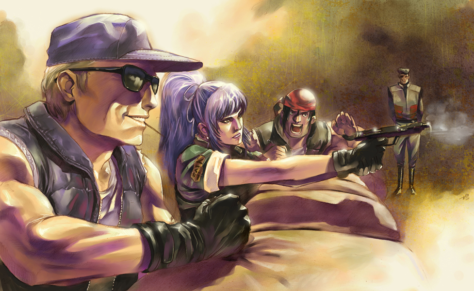 Ikari Team Training By Wilustra The King Of Fighters Know Your