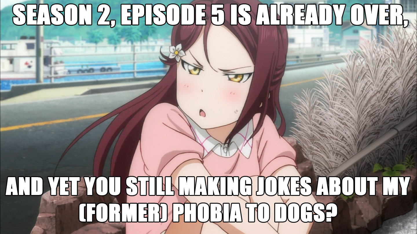 It's 2K18 and jokes about Riko's dog-phobia still never dies