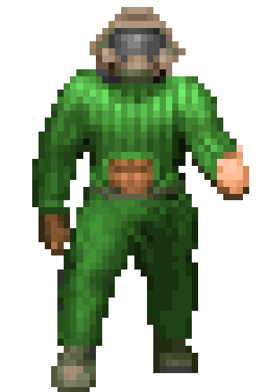 Doomguy Keyhole Turtleneck Know Your Meme