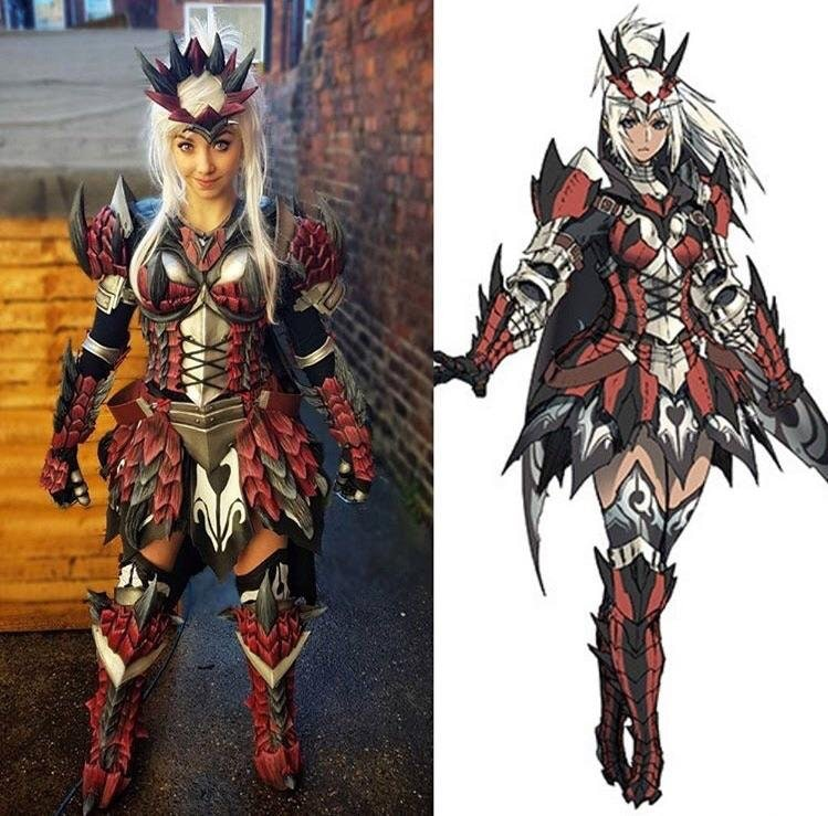 rathalos armor cosplay monster hunter know your meme
