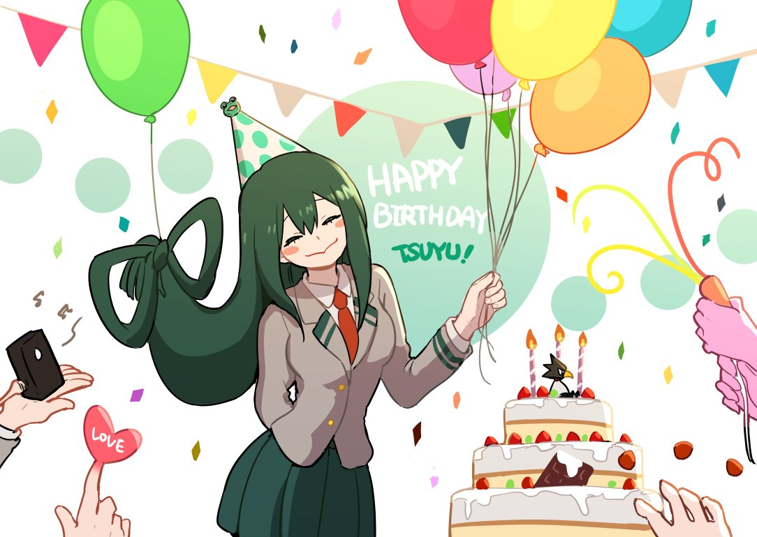 Happy Birthday Tsuyu My Hero Academia Know Your Meme