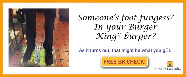 Free Bk Check Burger King Foot Lettuce Know Your Meme