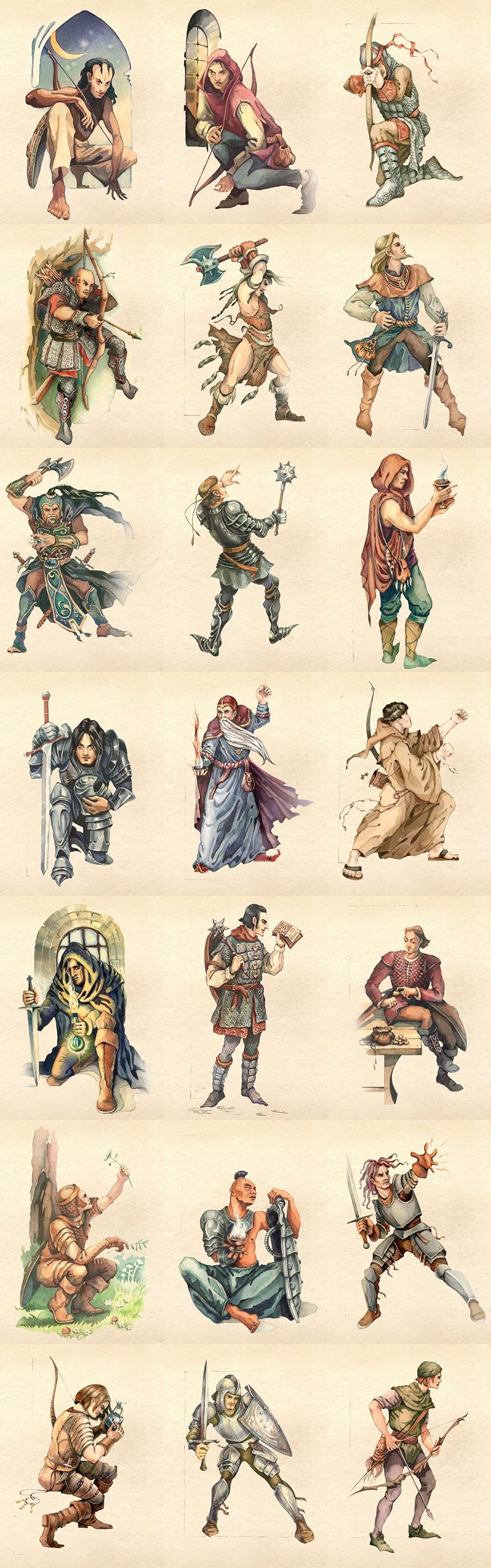 TES4:Oblivion Classes   The Elder Scrolls   Know Your Meme