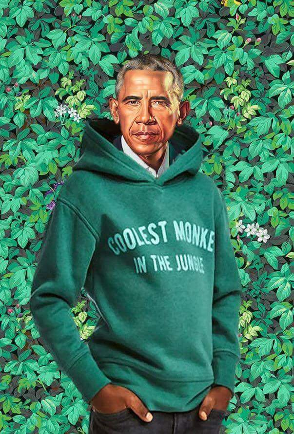 obama portrait meets h m ad the obamas official presidential