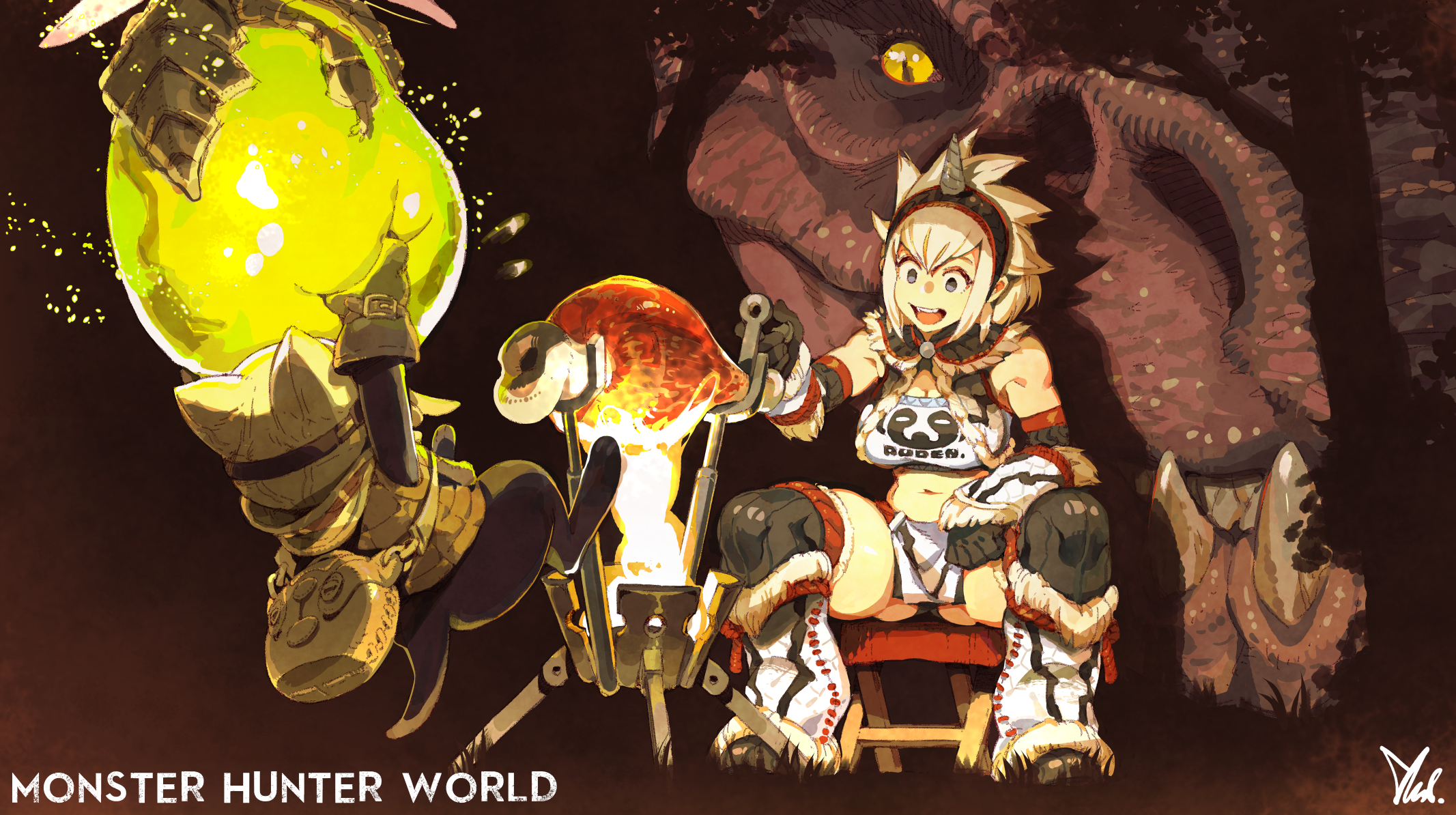 Look Out Meowster Monster Hunter Know Your Meme