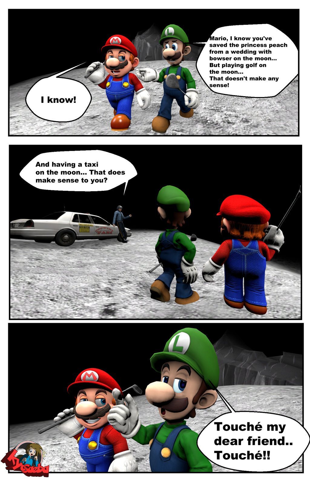 Golf On The Moon Super Mario Odyssey Know Your Meme