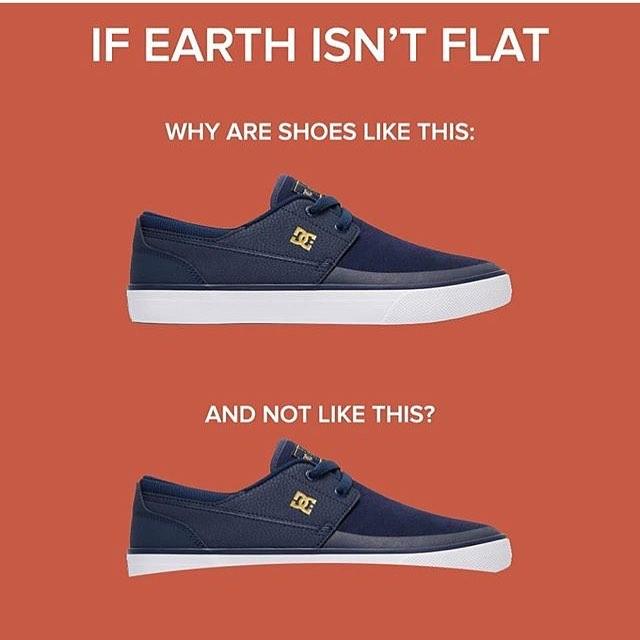 If earth isn't flat (DC Shoes) | If