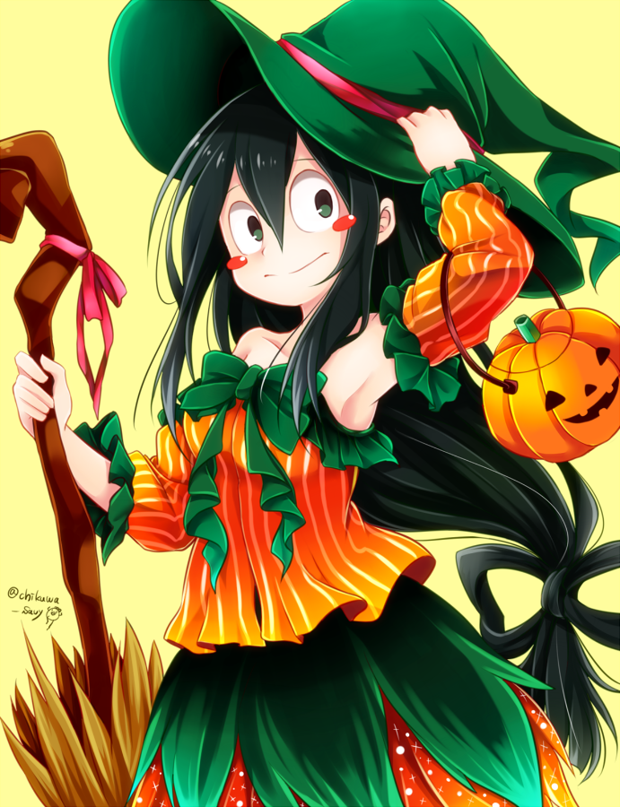 Pumpkin Witch Froppy My Hero Academia Know Your Meme