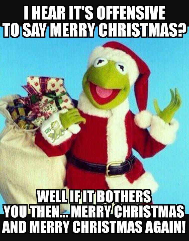 Merry Kermit | The War On Christmas | Know Your Meme