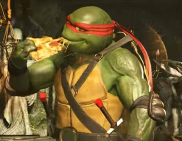 Eating A Slice Teenage Mutant Ninja Turtles Know Your Meme