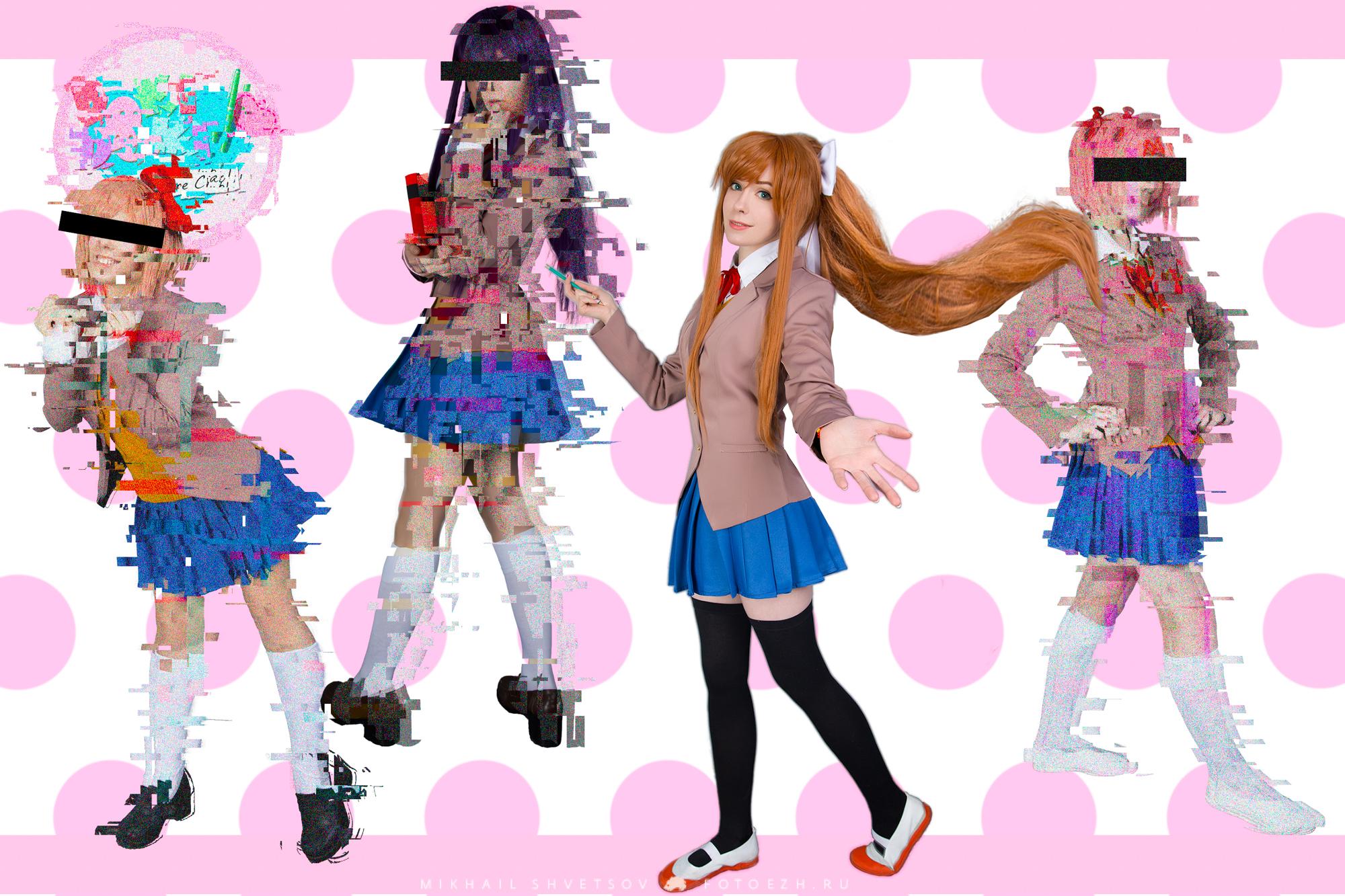 Yuri doki doki cosplay interesting. Tell