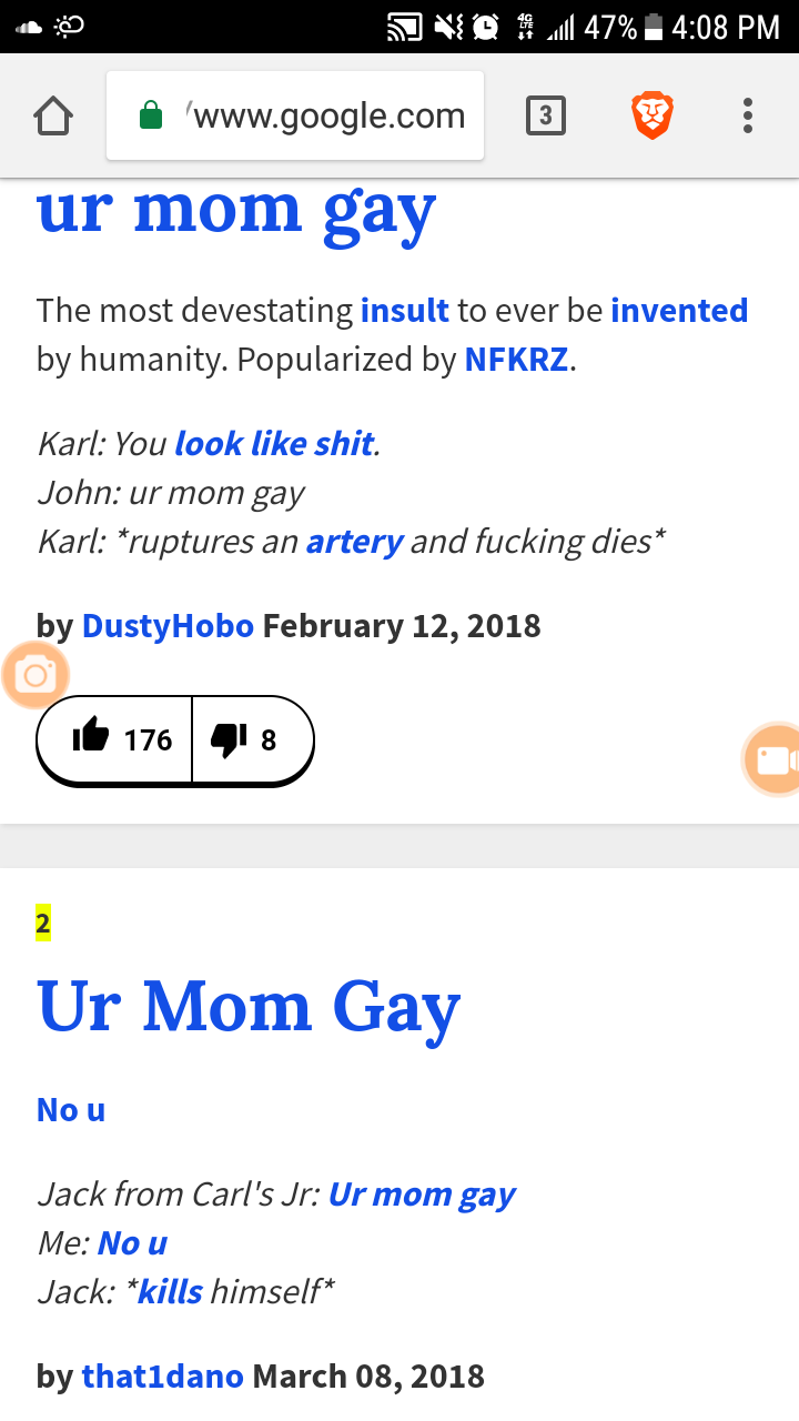 Google are you gay