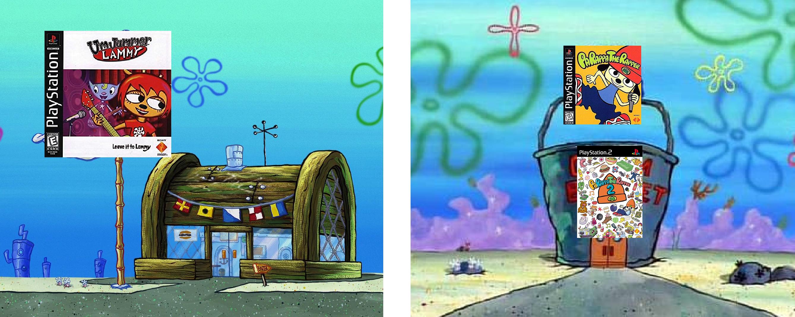 Krusty krab vs chum bucket tru facct
