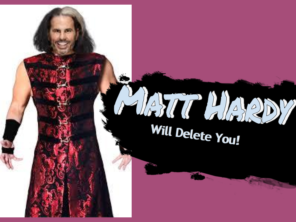 Smash Bros Ultimate Deletion Broken Matt Hardy Brother Nero