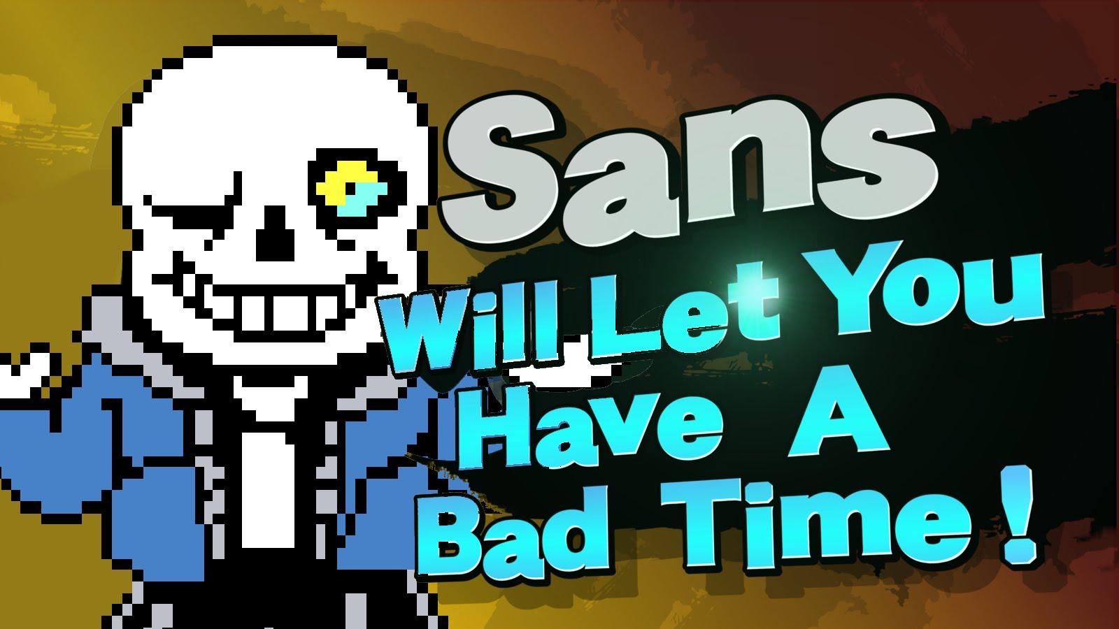 Announcement Parody | Sans in Smash | Know Your Meme