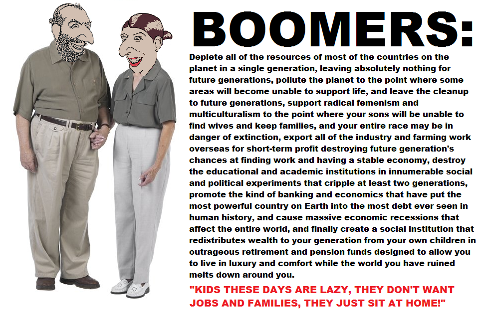 #1 Baby Boomers are the Worst Generation thread - Vanguard ...