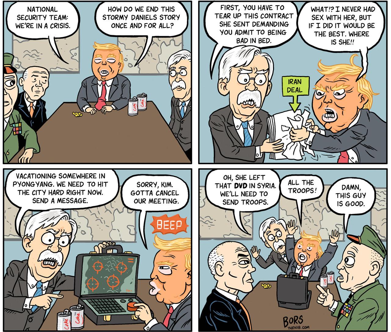 Image result for John Bolton meme