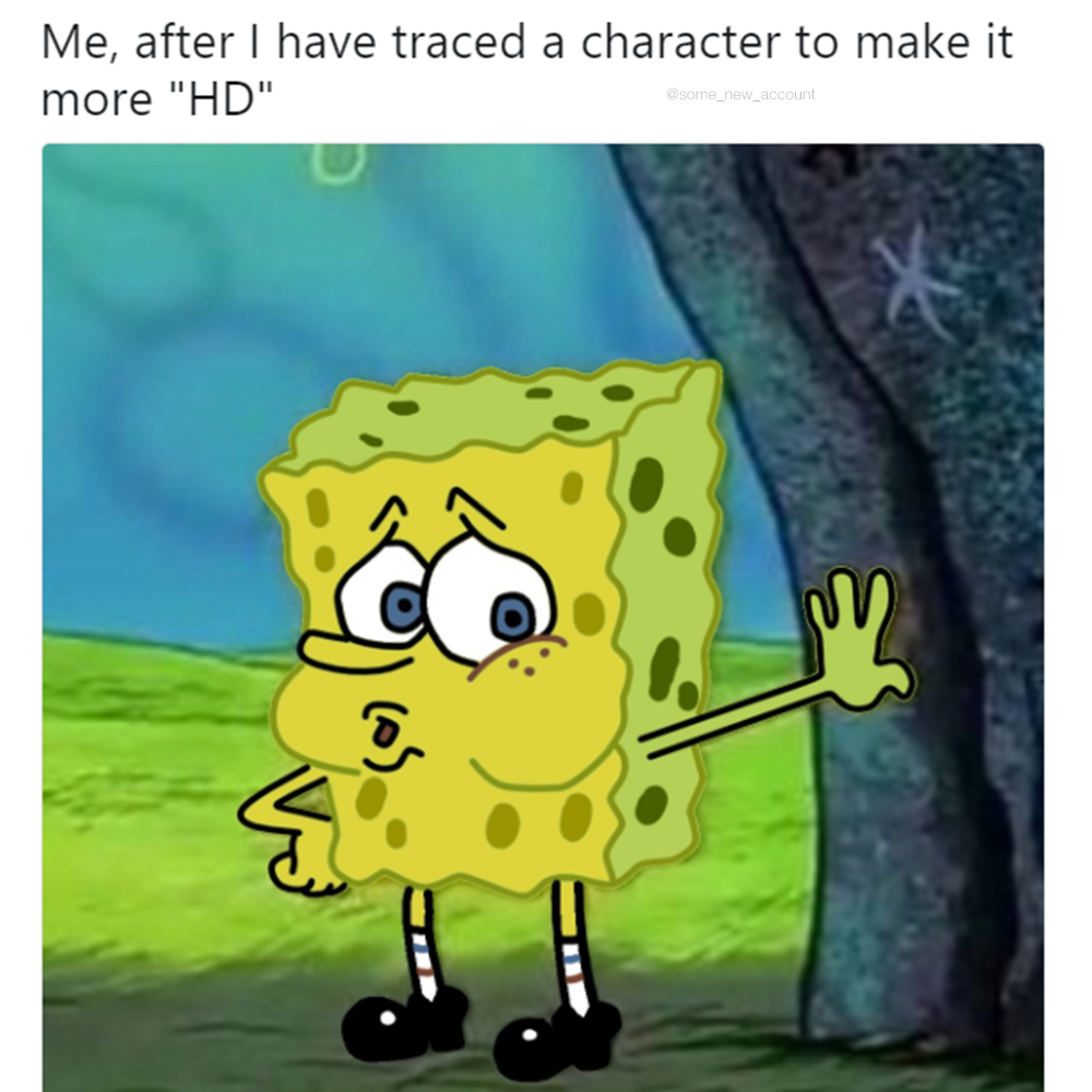 Hd tired spongebob know your meme