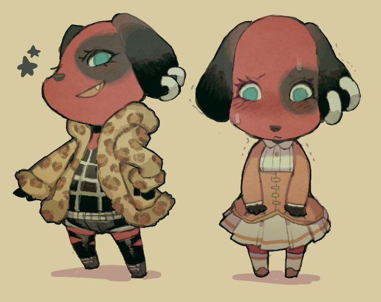 Costumes for Cherry | Animal Crossing | Know Your Meme