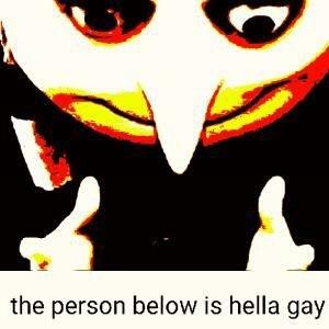 The Person Below Is Hella Gay Gru Hella Gay Know Your Meme