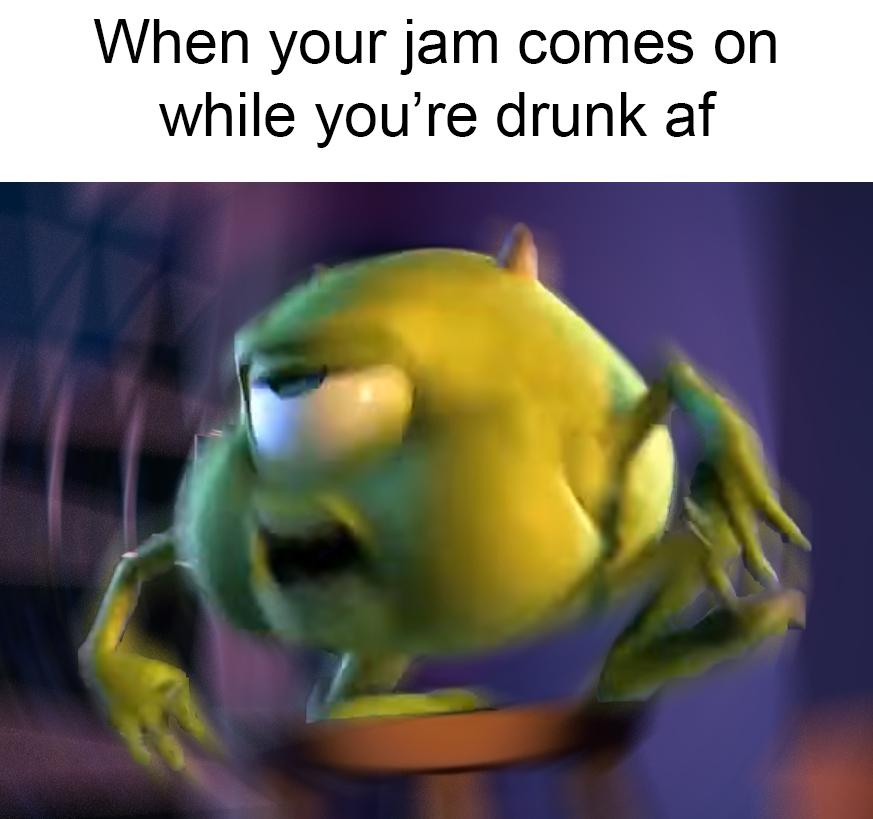 Turnt Wazowski Monsters Inc Know Your Meme