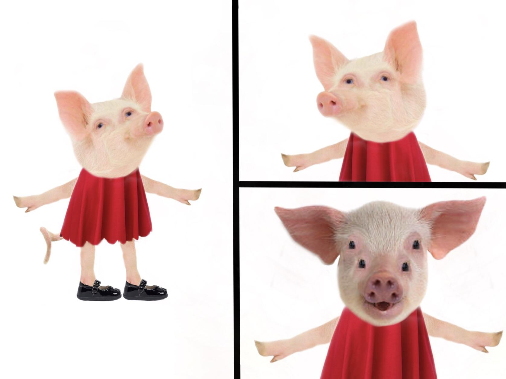 A Photorealistic Version Of That Peppa Pig Expose Peppa Pig Know