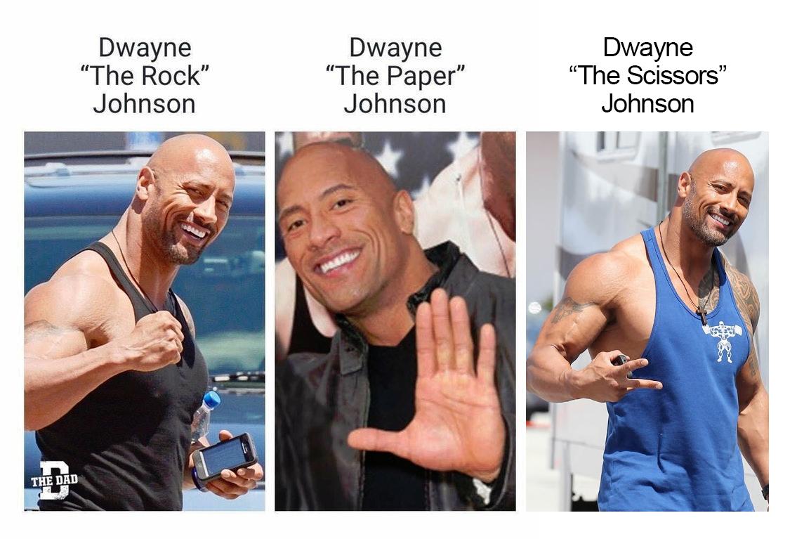 Image result for rock paper scissors meme