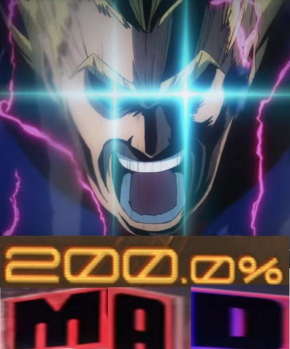 200 Percent Smash My Hero Academia Know Your Meme