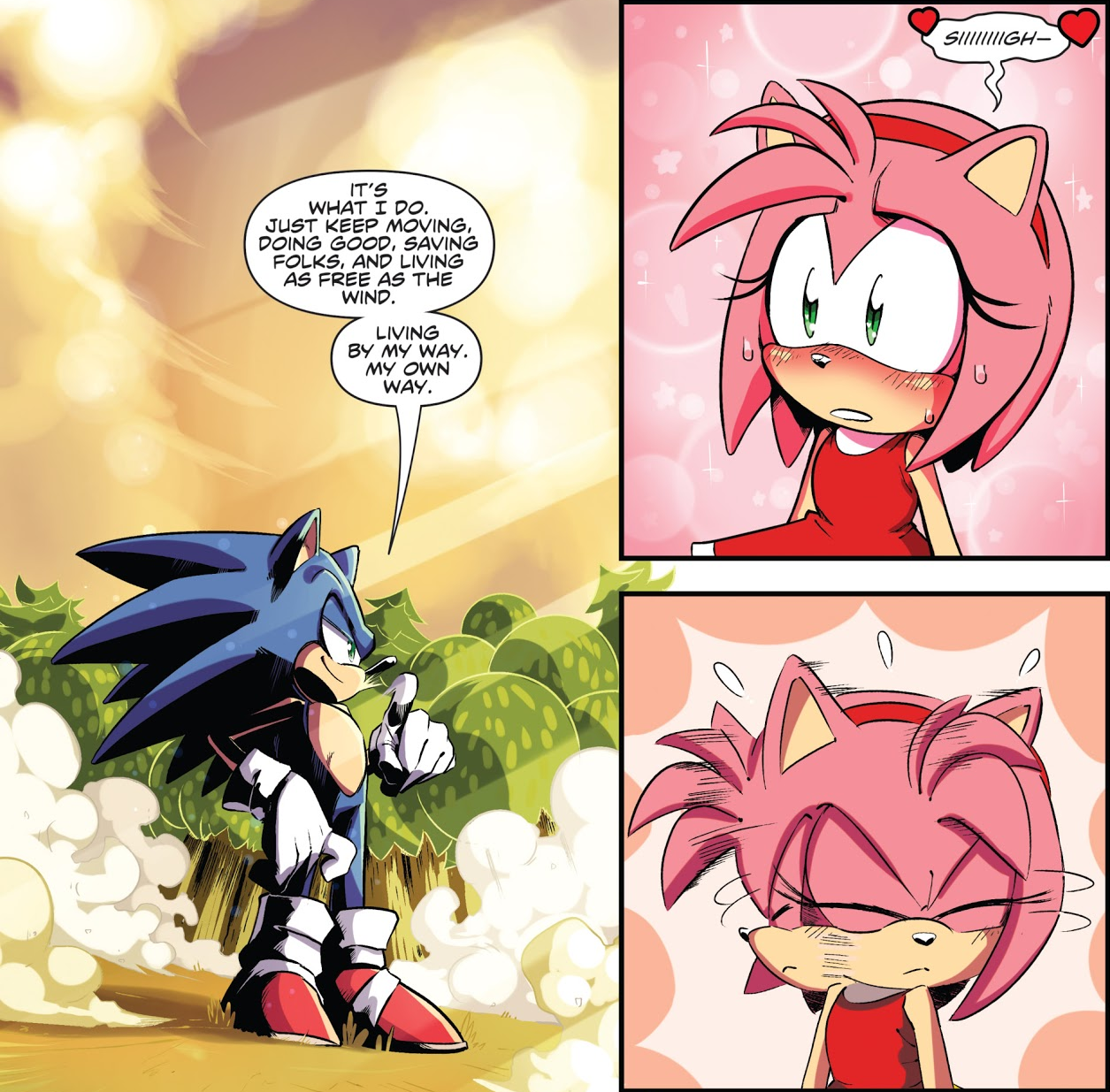 Cute Sonamy Moment Sonic The Hedgehog Know Your Meme