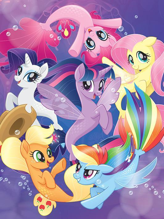 finally the seaponies are canon seaponies seapony lyra know
