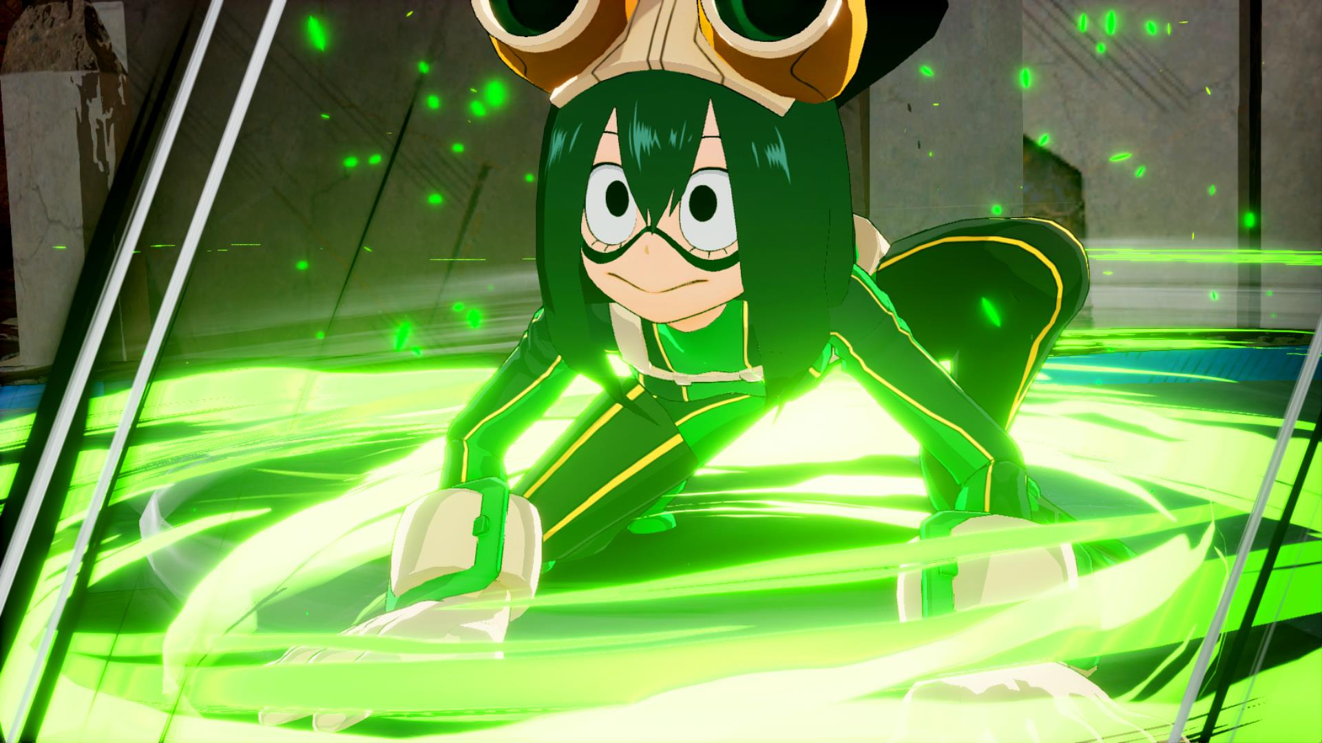 my hero academia ones justice green cartoon yellow fictional character