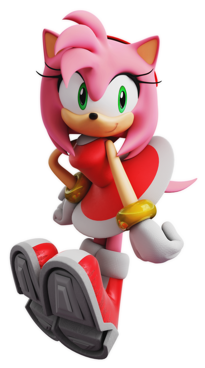 Adventure Dx Amy Render Sonic The Hedgehog Know Your Meme