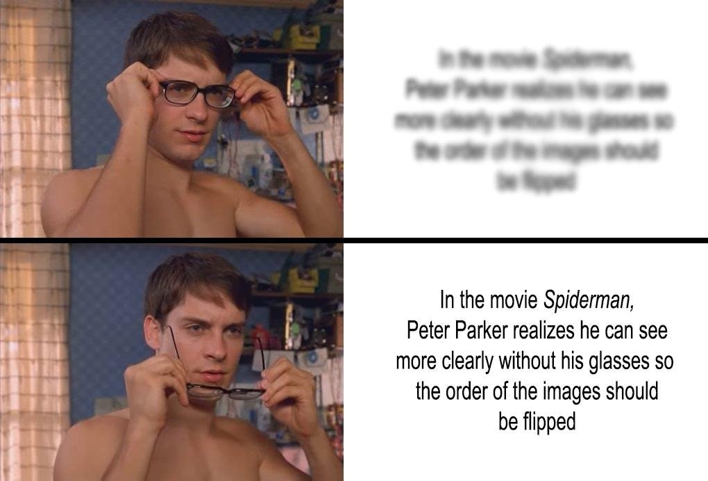The Truth About This Meme Peter Parkers Glasses Know
