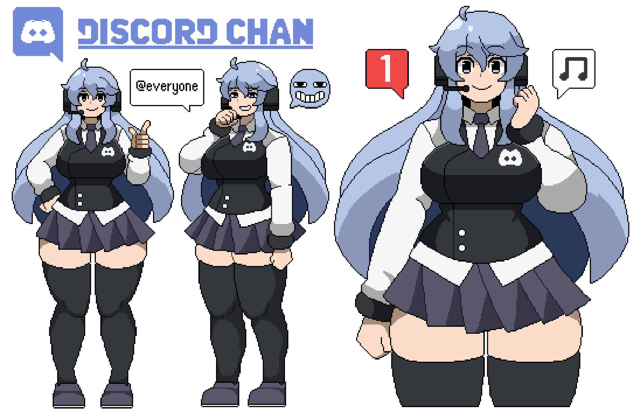 fbf3a02c81c Discord Chan by HollowGrimal