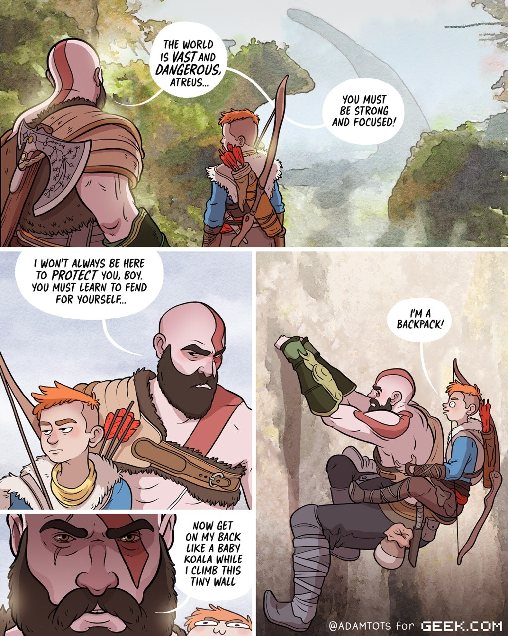 Oi God Of War Know Your Meme