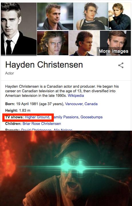 Its Over Obi Wan I Have The High Ground Know Your Meme