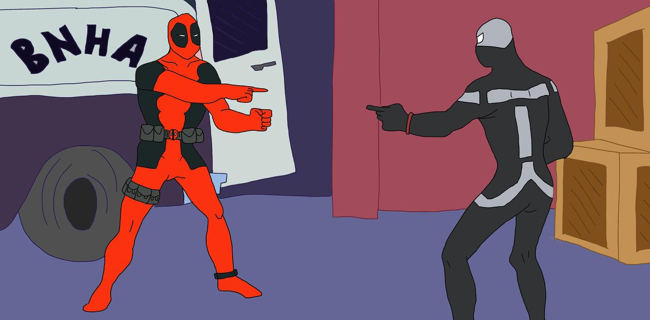 way: Spiderman Pointing Meme 3 Way