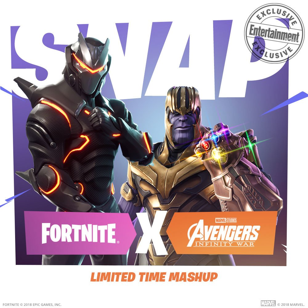 Thanos Comes To Fortnite Fortnite Know Your Meme