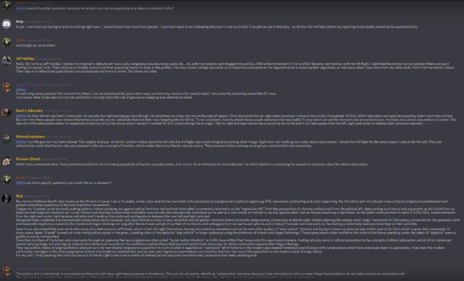 archived 22 | Kraut & Tea Discord Server Leaks | Know Your Meme