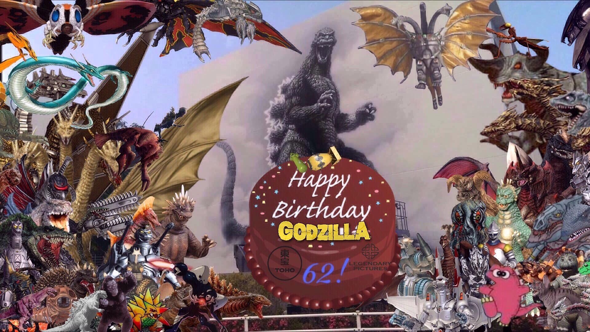 Godzillas 62nd Birthday 1 Godzilla Know Your Meme