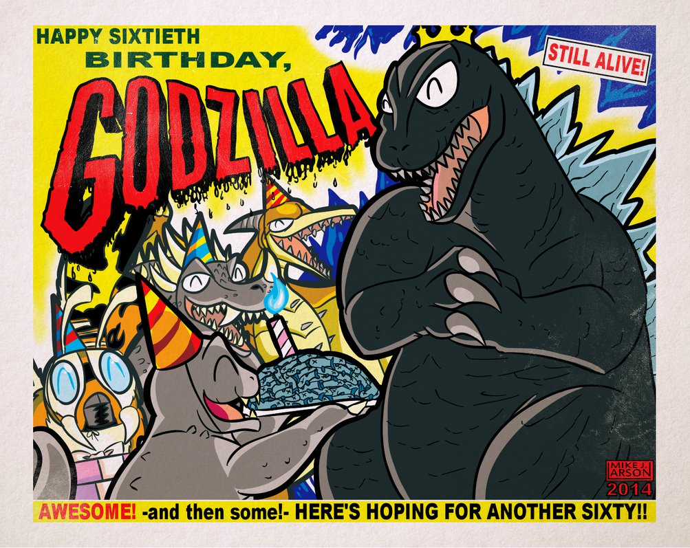 Heres To Another 60 Godzilla Know Your Meme