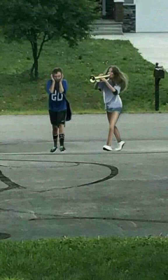 The tables have turned | Trumpet Boy | Know Your Meme