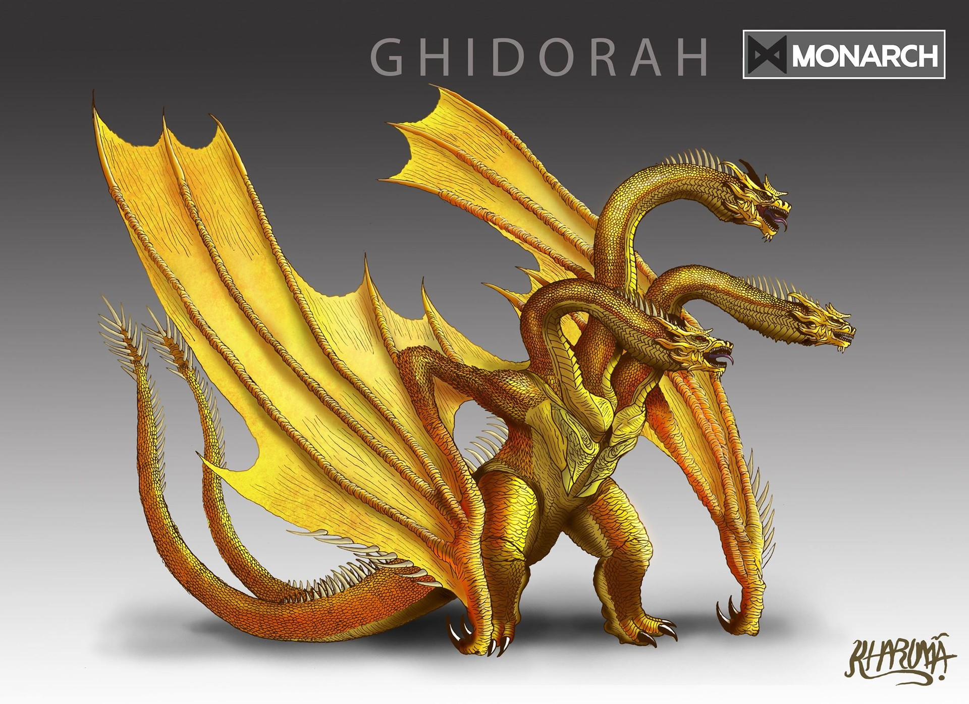 King Ghidorah Minecraft